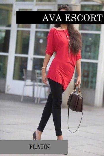 Amaya Escort Sexy Kleid Rot