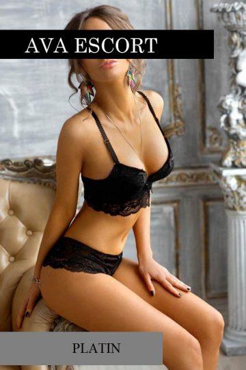 Escort Dortmund Julia sexy in schwarz