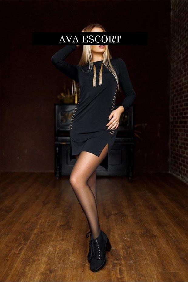 Escort Kaia München sexy Kleid